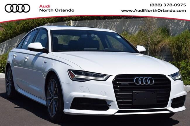 2018 Audi A6 Premium Plus Sedan