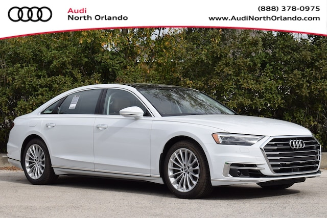 New 2020 Audi A8 L 60 Sedan WAU8EAF89LN002311 LN002311 for sale in Sanford, FL near Orlando