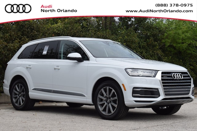 New 2019 Audi Q7 45 SE Premium SUV WA1LHAF77KD043028 KD043028 for sale in Sanford, FL near Orlando