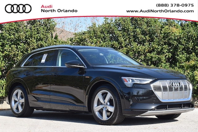 New 2019 Audi e-tron Premium Plus SUV WA1LAAGE7KB022628 KB022628 for sale in Sanford, FL near Orlando