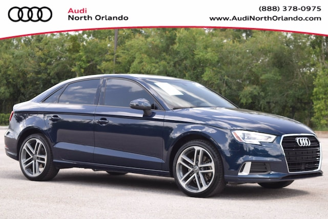 Used 2017 Audi A3 Premium Sedan WAUAUGFF6H1063863 H1063863 for sale in Sanford, FL near Orlando