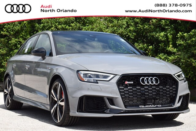 New 2019 Audi RS 3 2.5T Sedan for sale in Sanford, FL