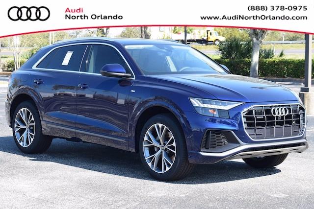 New 2021 Audi Q8 55 Premium Plus SUV WA1EVAF15MD022310 MD022310 for sale in Sanford, FL near Orlando