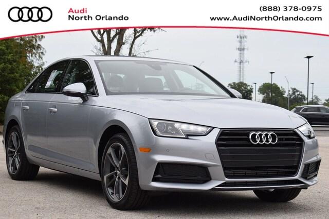 New 2019 Audi A4 2.0T Titanium Premium Sedan WAUGMAF41KN021848 KN021848 for sale in Sanford, FL near Orlando