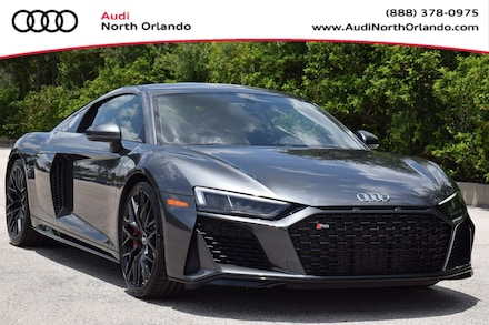 Featured new 2020 Audi R8 Coupe 5.2 V10 Coupe for sale in Sanford, FL, near Orlando, FL.