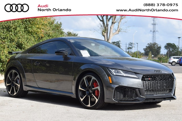 New 2019 Audi TT RS 2.5T Coupe WUAASAFV2K1901572 K1901572 for sale in Sanford, FL near Orlando