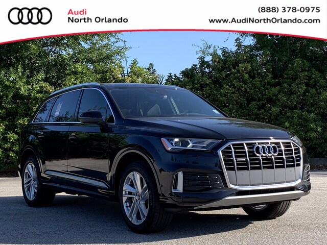 New 2021 Audi Q7 45 Premium SUV WA1AJAF75MD029210 MD029210 for sale in Sanford, FL near Orlando