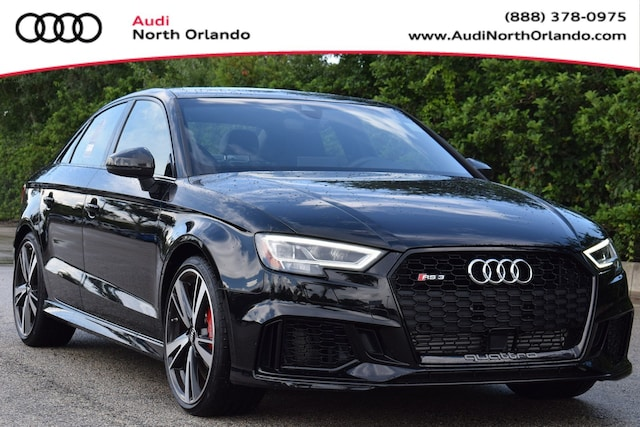 New 2019 Audi RS 3 2.5T Sedan WUABWGFF0KA904376 KA904376 for sale in Sanford, FL near Orlando