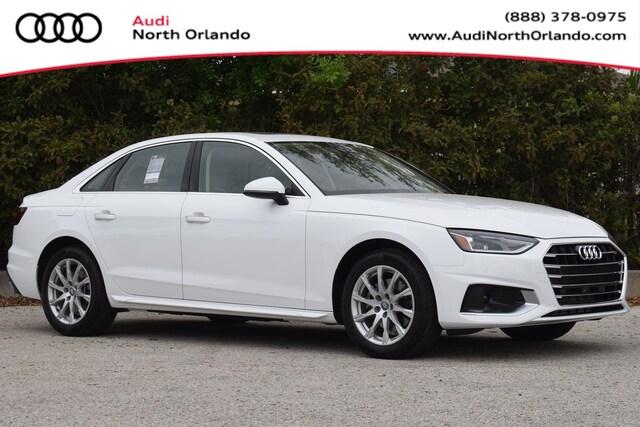 New 2020 Audi A4 40 Premium Sedan WAUGMAF49LA044903 LA044903 for sale in Sanford, FL near Orlando