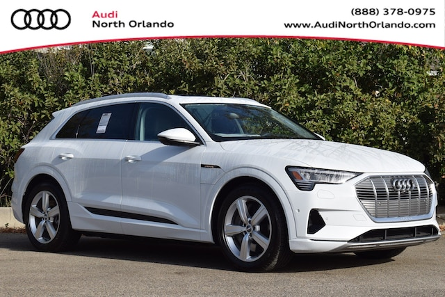 New 2019 Audi e-tron Premium Plus SUV WA1LAAGE7KB023309 KB023309 for sale in Sanford, FL near Orlando