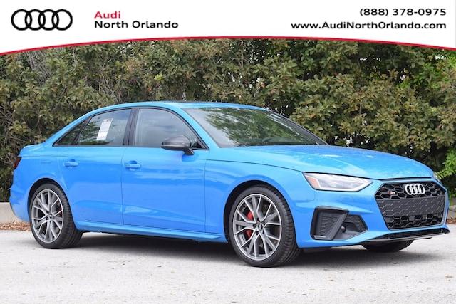 New 2020 Audi S4 3.0T Prestige Sedan WAUC4AF43LA038917 LA038917 for sale in Sanford, FL near Orlando