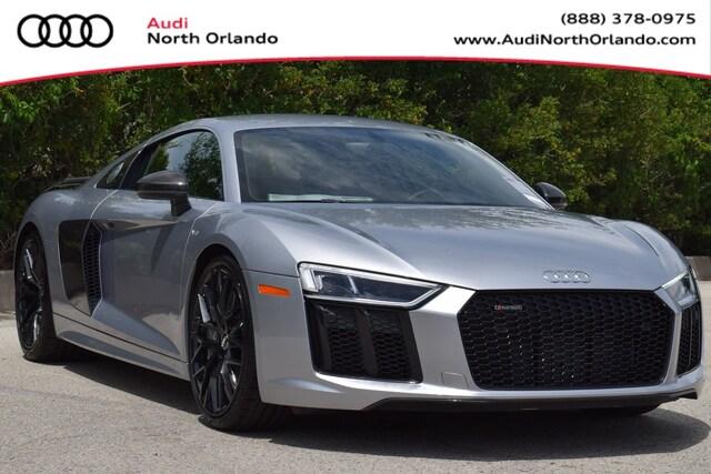 New 2018 Audi R8 5.2 V10 plus Coupe WUAKBAFX7J7902508 J7902508 for sale in Sanford, FL near Orlando