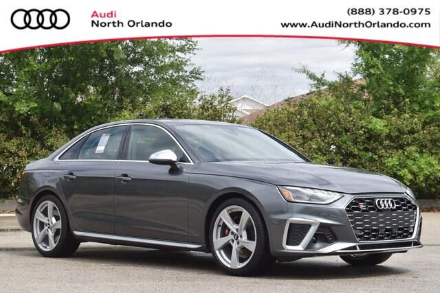 New 2020 Audi S4 3.0T Premium Plus Sedan WAUB4AF42LA057101 LA057101 for sale in Sanford, FL near Orlando