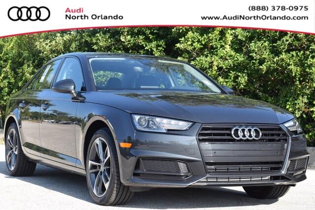 New 2019 Audi A4 2.0T Titanium Premium Sedan WAUGMAF46KN015205 KN015205 for sale in Sanford, FL