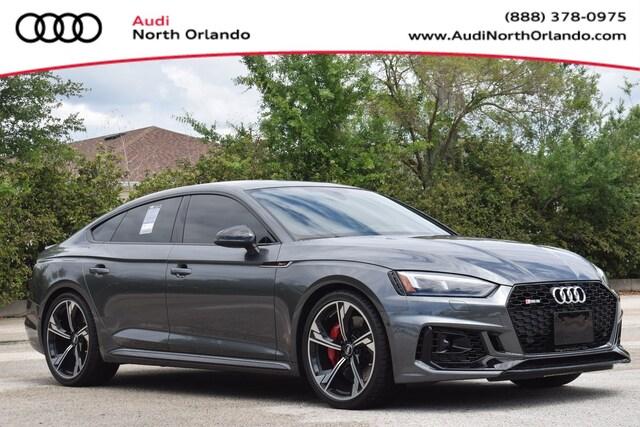 New 2019 Audi RS 5 2.9T Sportback WUABWCF5XKA907978 KA907978 for sale in Sanford, FL near Orlando