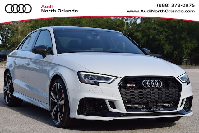 New 2019 Audi RS 3 2.5T Sedan WUABWGFFXKA904546 KA904546 for sale in Sanford, FL near Orlando