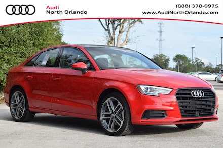 Featured new 2020 Audi A3 2.0T Premium Sedan for sale in Sanford, FL, near Orlando, FL.