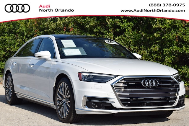 Used 2019 Audi A8 Sedan WAU8DAF83KN007263 KN007263 for sale in Sanford, FL near Orlando