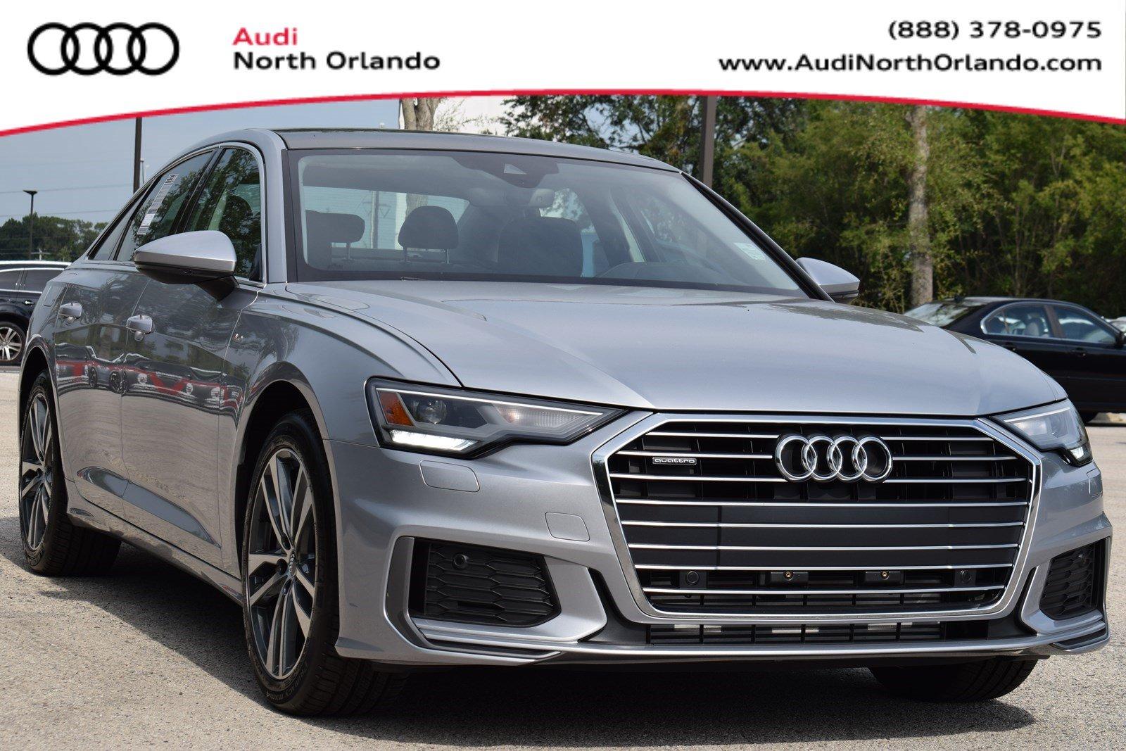 Featured new 2019 Audi A6 3.0T Premium Sedan for sale in Sanford, FL, near Orlando, FL.