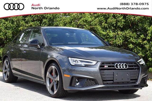 New 2019 Audi S4 3.0T Premium Plus Sedan WAUB4AF46KA118318 KA118318 for sale in Sanford, FL