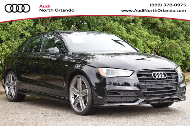 Used 2016 Audi A3 2.0T Premium Sedan WAUB8GFF3G1056957 G1056957 for sale in Sanford, FL near Orlando