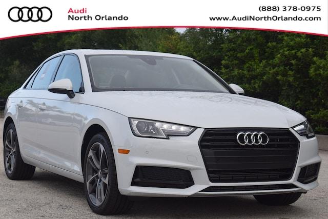 New 2019 Audi A4 2.0T Titanium Premium Sedan WAUGMAF45KN013431 KN013431 for sale in Sanford, FL