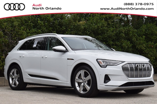 New 2019 Audi e-tron Premium Plus SUV WA1LAAGE1KB022754 KB022754 for sale in Sanford, FL near Orlando