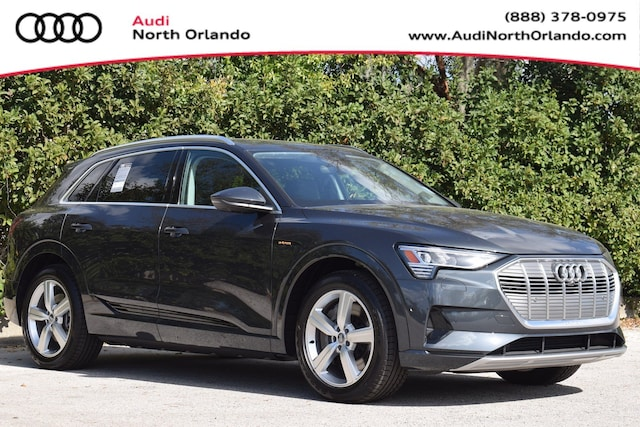 New 2019 Audi e-tron Premium Plus SUV WA1LAAGE4KB024384 KB024384 for sale in Sanford, FL near Orlando