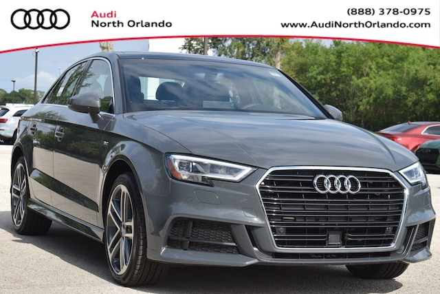 New 2019 Audi A3 2.0T Premium Plus Sedan WAUGUGFF4KA075477 KA075477 for sale in Sanford, FL near Orlando