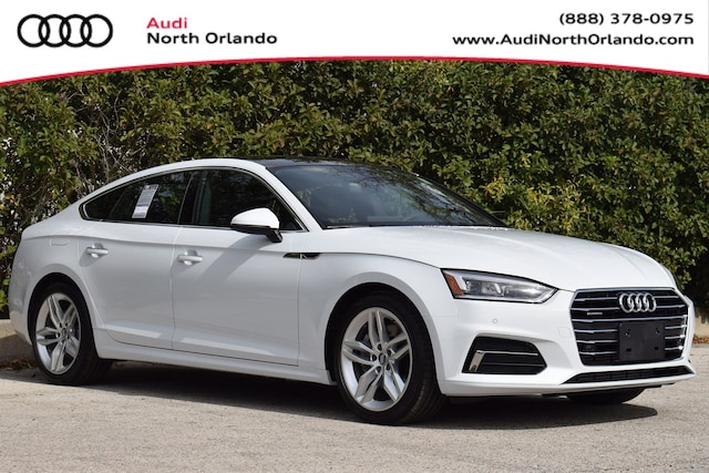 New 2019 Audi A5 2.0T Premium Plus Sportback WAUBNCF59KA096008 KA096008 for sale in Sanford, FL near Orlando