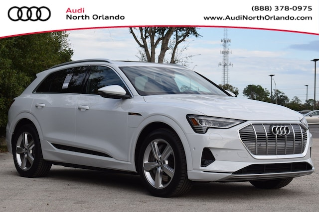 New 2019 Audi e-tron Premium Plus SUV WA1LAAGE6KB023723 KB023723 for sale in Sanford, FL near Orlando