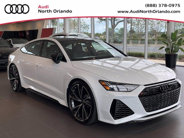 New 2022 Audi RS 7 4.0T Sportback WUAPCBF27NN900370 NN900370 for sale in Sanford, FL near Orlando