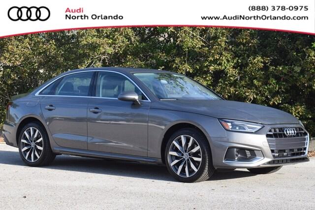New 2020 Audi A4 40 Premium Sedan WAUGMAF47LN008443 LN008443 for sale in Sanford, FL near Orlando