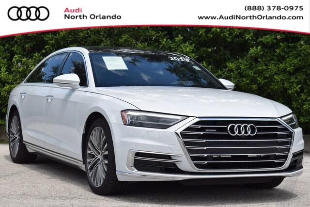 Used 2019 Audi A8 Sedan WAU8DAF8XKN003839 KN003839 for sale in Sanford, FL near Orlando