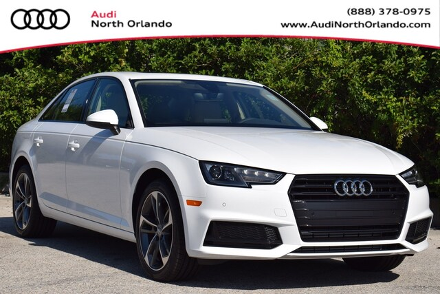 New 2019 Audi A4 2.0T Titanium Premium Sedan WAUGMAF42KA114515 KA114515 for sale in Sanford, FL