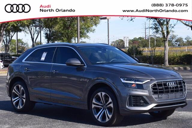 New 2021 Audi Q8 55 Premium Plus SUV WA1BVAF13MD013706 MD013706 for sale in Sanford, FL near Orlando
