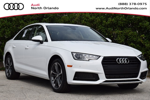 New 2019 Audi A4 2.0T Titanium Premium Sedan WAUGMAF46KN022610 KN022610 for sale in Sanford, FL
