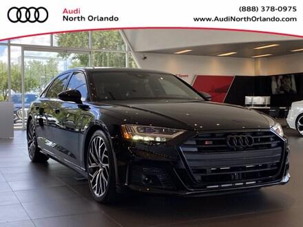 Featured new 2021 Audi S8 4.0T Sedan for sale in Sanford, FL, near Orlando, FL.