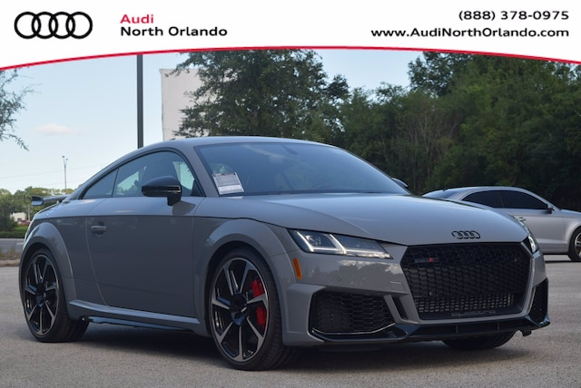 New 2020 Audi TT RS 2.5T Coupe WUAASAFVXL1900820 L1900820 for sale in Sanford, FL near Orlando