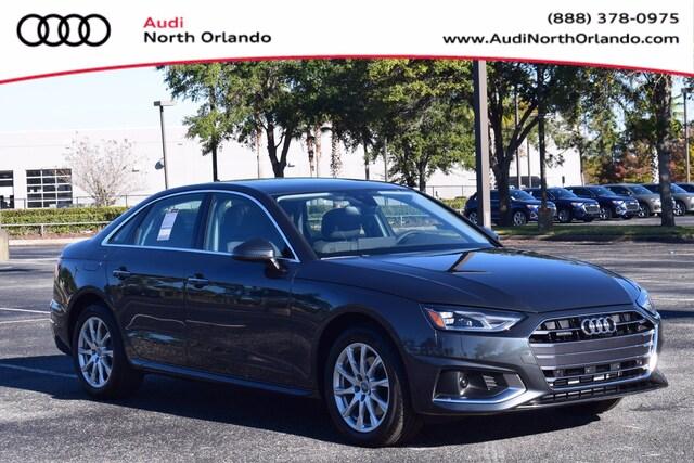New 2021 Audi A4 40 Premium Sedan WAUABAF46MA015422 MA015422 for sale in Sanford, FL near Orlando