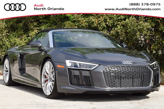 New 2018 Audi R8 5.2 V10 Spyder for sale in Sanford, FL