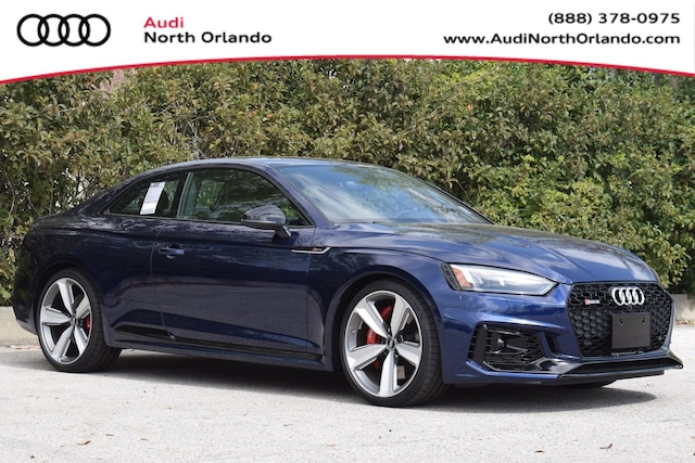 New 2019 Audi RS 5 2.9T Coupe WUAPWAF5XKA908171 KA908171 for sale in Sanford, FL near Orlando