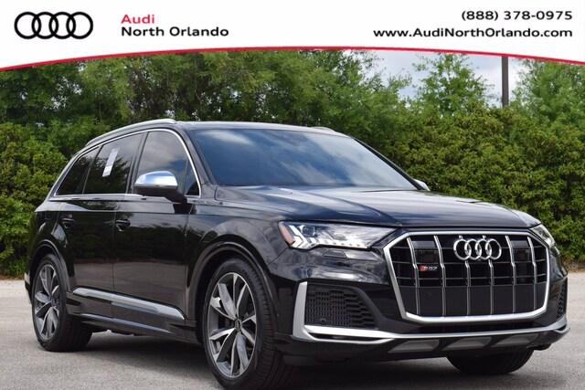 New 2021 Audi SQ7 4.0T Premium Plus SUV WA1AWBF77MD023142 MD023142 for sale in Sanford, FL near Orlando