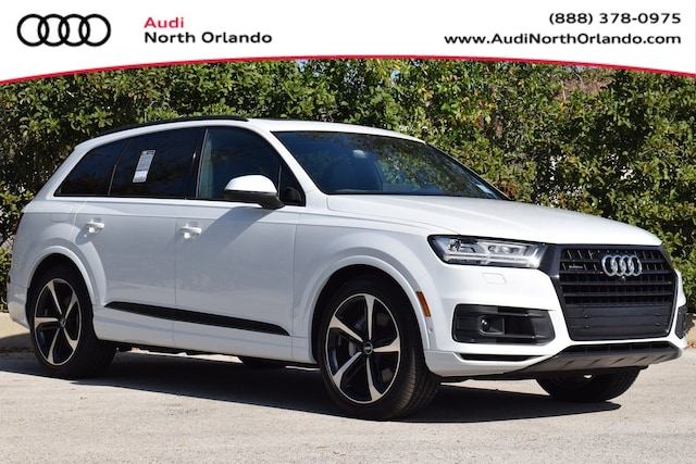 New 2019 Audi Q7 55 SE Premium SUV WA1LAAF72KD046634 KD046634 for sale in Sanford, FL near Orlando