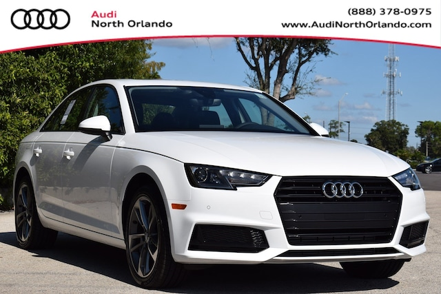 New 2019 Audi A4 2.0T Titanium Premium Sedan WAUGMAF4XKA115251 KA115251 for sale in Sanford, FL