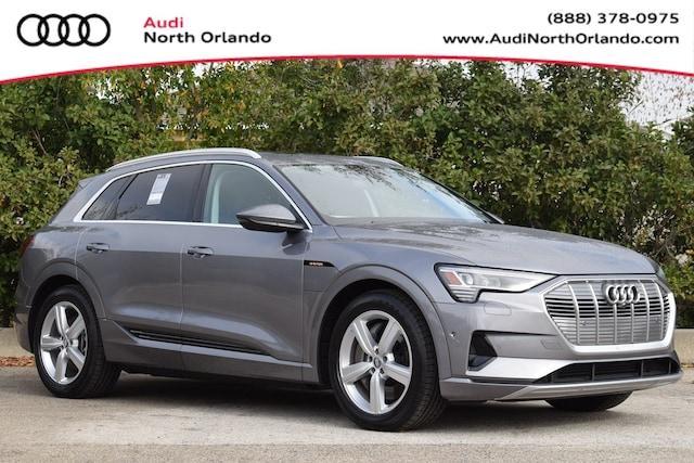 New 2019 Audi e-tron Premium Plus SUV WA1LAAGE7KB022306 KB022306 for sale in Sanford, FL near Orlando