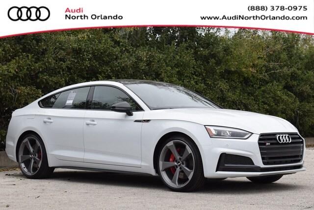 New 2019 Audi S5 3.0T Premium Plus Sportback WAUB4CF56KA097457 KA097457 for sale in Sanford, FL near Orlando