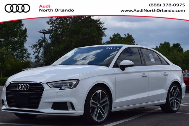 Used 2017 Audi A3 Premium Sedan WAUB8GFF0H1025425 H1025425 for sale in Sanford, FL near Orlando