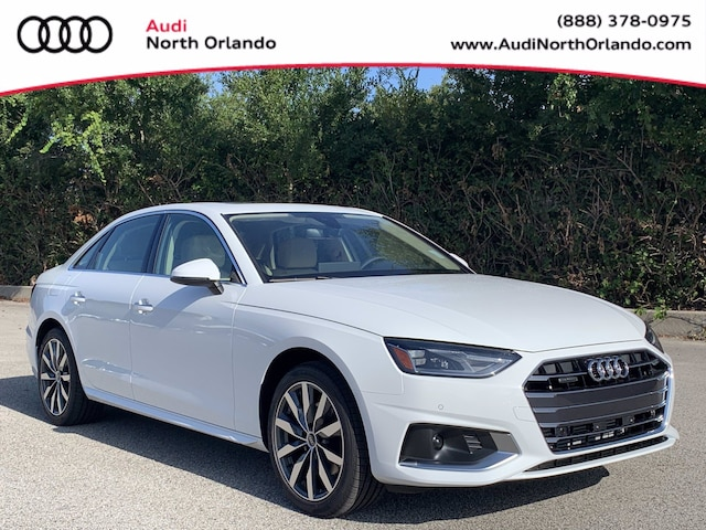 New 2022 Audi A4 40 Premium Sedan WAUABAF42NN000202 NN000202 for sale in Sanford, FL near Orlando