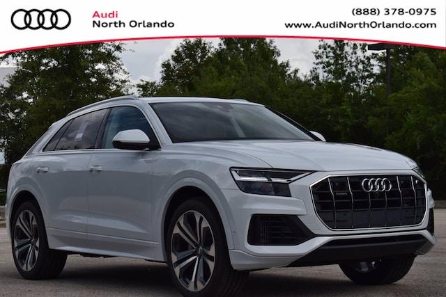 New 2020 Audi Q8 55 Premium Plus SUV WA1BVAF19LD023719 LD023719 for sale in Sanford, FL near Orlando